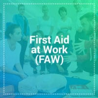 first aid at work training courses