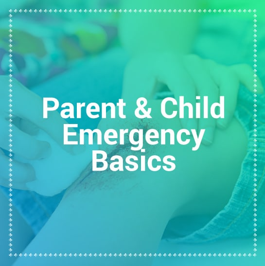 Parent and child first aid training